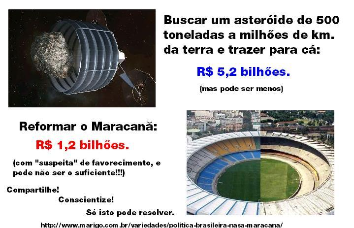 Politica  Nasa Maracana marigo.com.br